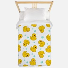 Rubber Duck Pattern Twin Duvet
