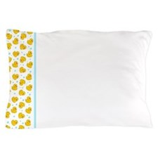 Rubber Duck Pattern Pillow Case