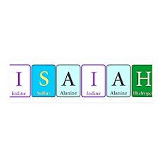 Isaiah Wall Decal