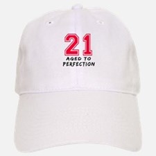 21 year birthday designs Baseball Baseball Cap
