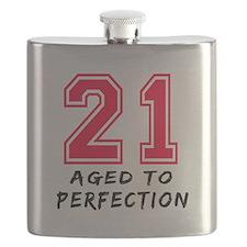 21 year birthday designs Flask