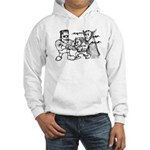 Funny Monsters Hooded Sweatshirt
