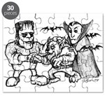 Funny Monsters Puzzle
