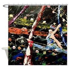 Silks Circus Shower Curtain
