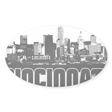 Cincinnati Skyline Decal