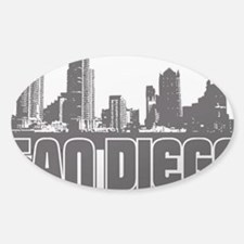 San Diego Skyline Decal