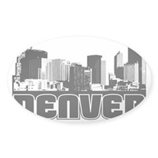 Denver Skyline Decal