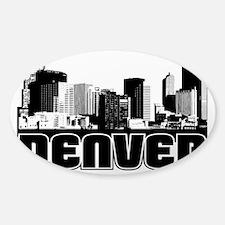 Denver Skyline Decal