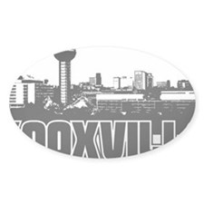 Knoxville Skyline Decal