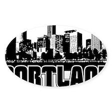 Portland Skyline Decal