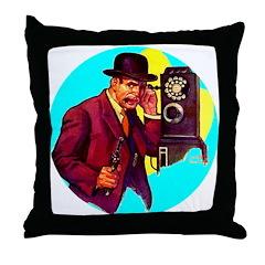 Gangster #3 Throw Pillow