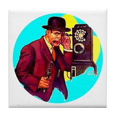 Gangster #3 Tile Coaster