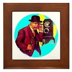 Gangster #3 Framed Tile