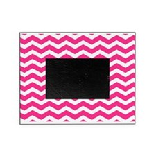 Hot pink chevron Picture Frame