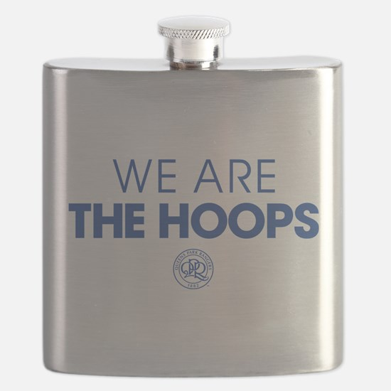 Queens Park We Are The Hoops Flask