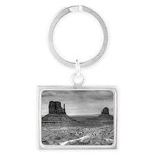 Monument Valley II Landscape Keychain