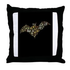 Eye of Newt and Wing of Bat Throw Pillow