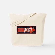 Detroit Detrour Tote Bag