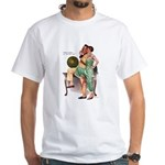 Hands on Hips White T-Shirt