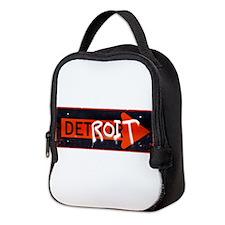 Detroit Detour Neoprene Lunch Bag