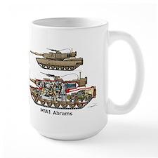 M1A1 Abrams MBT Cutaway Steve Mug