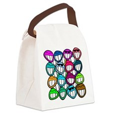 Smile at the world! Canvas Lunch Bag