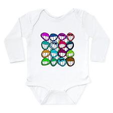 Smile at the world! Long Sleeve Infant Bodysuit