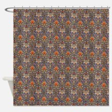 Morris Snakeshead with Repeats Shower Curtain