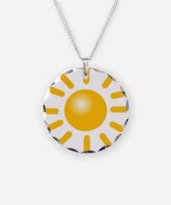 Simple Sun Necklace