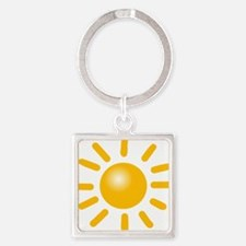 Simple Sun Keychains