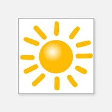Simple Sun Sticker