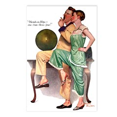 Hands on Hips Postcards (Package of 8)