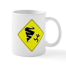 Tornado Caution Sign Mug