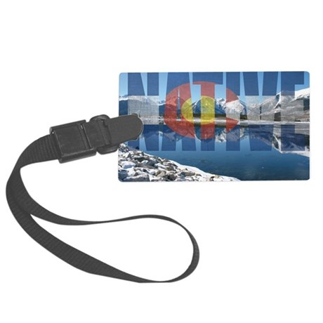 Colorado Native Large Luggage Tag