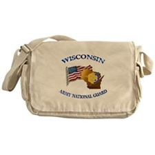 Army National Guard - WISCONSIN w Flag Messenger B