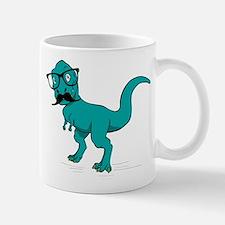 Hipster T-rex Mug