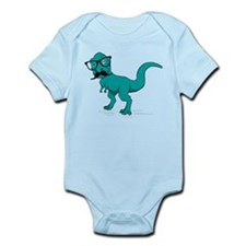 Hipster T-rex Body Suit