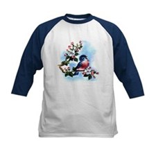 BLUEBIRD AND BLOSSOMS Tee
