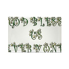 God Bless Us Every One! Rectangle Magnet (100 pack