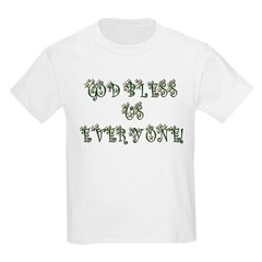 God Bless Us Every One! Kids T-Shirt