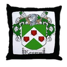 Kearns Coat of Arms Throw Pillow