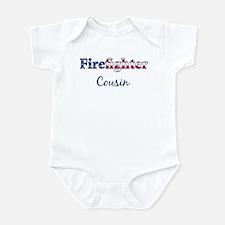 Firefighter Cousin Infant Bodysuit