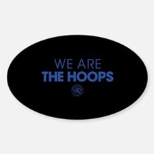 Queens Park We Are The Hoops Sticker (Oval)