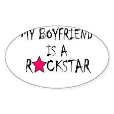 My Boyfriend is a Rockstar Decal