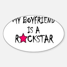My Boyfriend is a Rockstar Decal