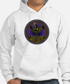 Mimbres Olive Quail Hoodie
