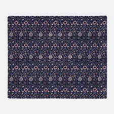 Morris Evenlode with Repeats Throw Blanket