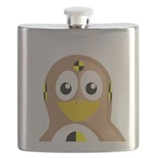 Crash Test Dummy Penguin Flask