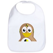 Crash Test Dummy Penguin Bib
