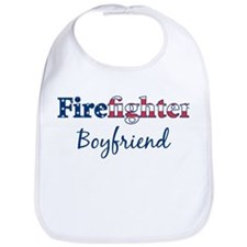 Firefighter Boyfriend Bib